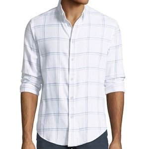 "Rag & Bone ""Tomlin"" slim fit 2 Flannel Shirt"
